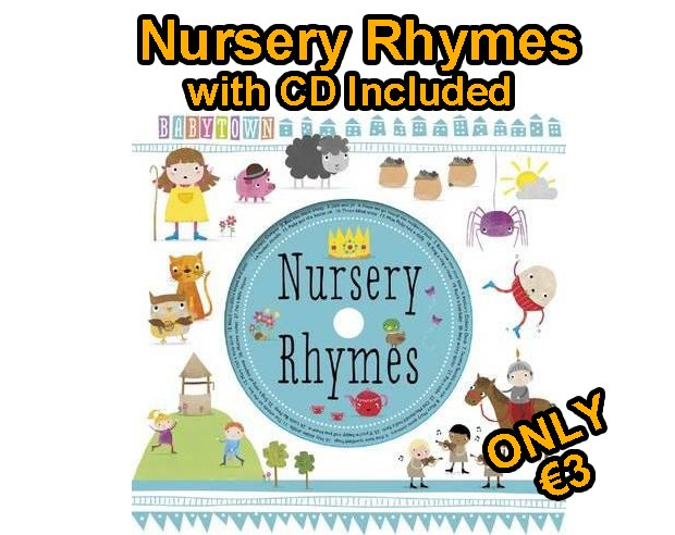 Nursery Rhymes with included CD